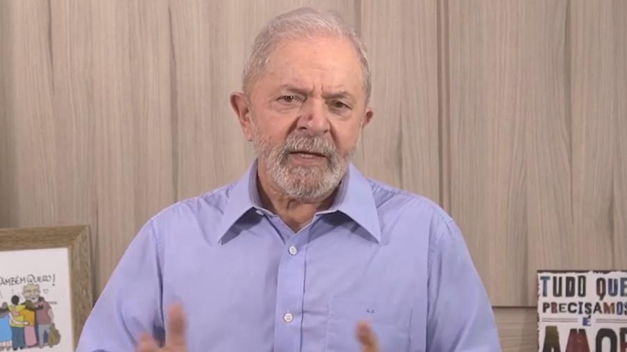 'Ainda bem' que o 'monstro' do coronavírus apareceu, diz Lula