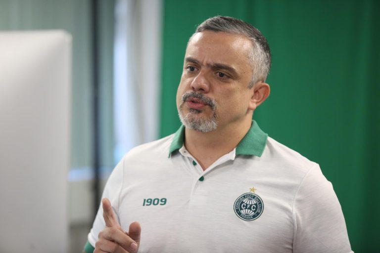 Jaime Rocha, infectologista do Coritiba. (Divulgação)
