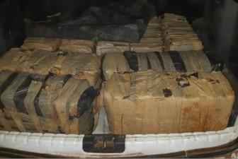 Droga foi apreendida, em Tibagi, na noite de terça-feira (23) - Foto: PRF/Divulgação