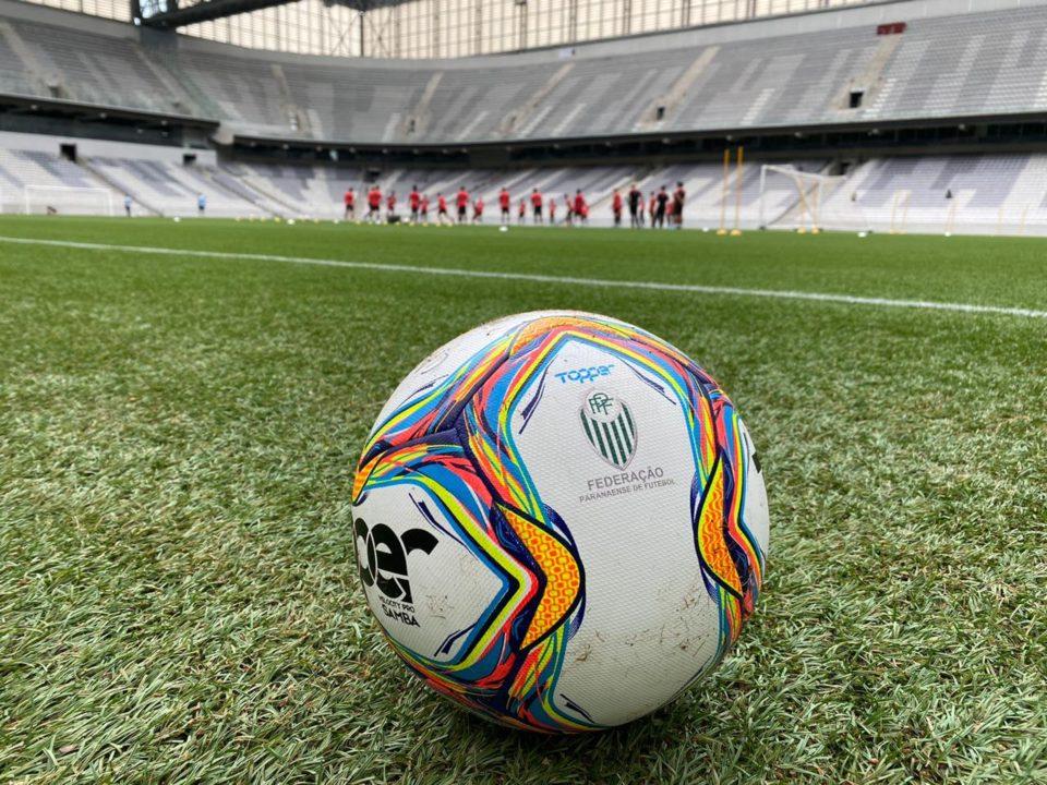 Athletico teve sete funcionários diagnosticados com a Covid-19. (Monique Vilela/Banda B)