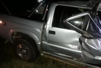 Acidente ocorreu no KM 116, próximo ao trevo do Caratuva - Imagens José Carlos - Defesa Civil