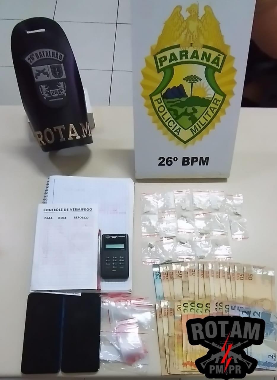 TELÊMACO BORBA: Polícia militar e civil realizam operação de combate ao tráfico de drogas