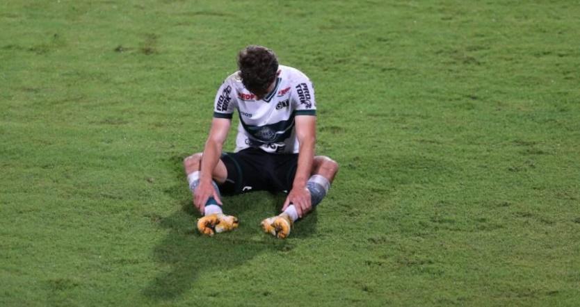 Coritiba lamenta mais um tropeço no Campeonato Brasileiro. (Geraldo Bubniak/AGB)