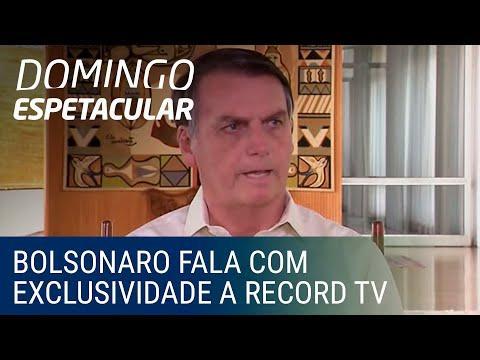 Em entrevista à Record TV, Bolsonaro fala que deve sair do PSL e pretende criar um novo partido